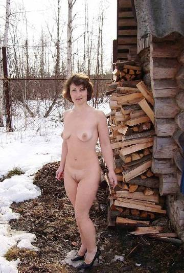 секс жены на даче